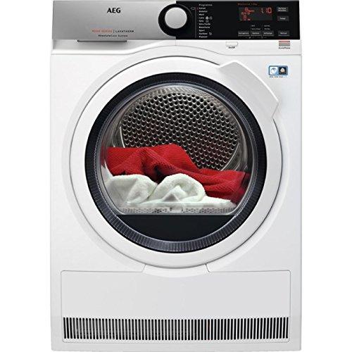 AEG T8DEE852 Libera installazione Carica frontale 8kg A+++ Bianco asciugatrice