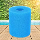 Filtro de piscina reutilizable lavable Filtro de espuma Esponja de espuma Piezas de repuesto para piscina(10CM)