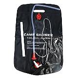 20L Solar Dusche Tasche PVC Solar Heizung Wasser Tasche mit Düse für Outdoor Camping Reisen