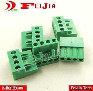Davitu HT3.96-4P 4Pin Plug Screw Terminal Block connector 3.96mm 10pcs/lot HT396K