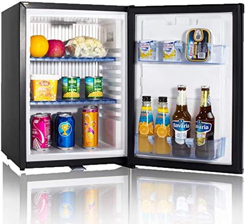 SMETA 12V/110V Compact Refrigerator Freightliner Cascadia Truck Mini fridge RV Can Cooler Camper, 36 qt