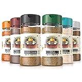 Flavor God Seasonings- Meal Prep Combo Pack | Pack of 6- 5oz | Healthy Vegan Seasonings | Great for...