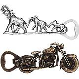 Motorrad Flaschenöffner Elephant Flaschenöffner Lustig Metall Bieröffner Coole Motorradform...