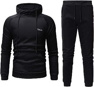 Sports Suit Tops +Pants Set Men's Casual Long Sleeved Alphabetic Printing Hoodie