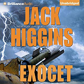 Exocet audiobook cover art