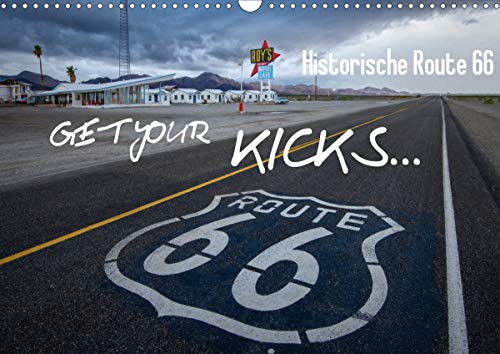 Route 66 (Wandkalender 2021 DIN A3 quer)