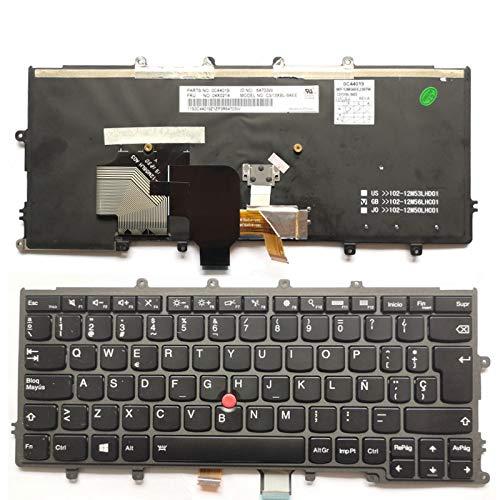 Español Con retroiluminación Teclado para Lenovo IBM Thinkpad X230S X240 X240S X250 X260 0C44711 X240I X260S X250S X270 01EP008 01EP084 04X0200 04X0238 0C44005 04X0215 04X0182 Spanish SP Latin LA ES