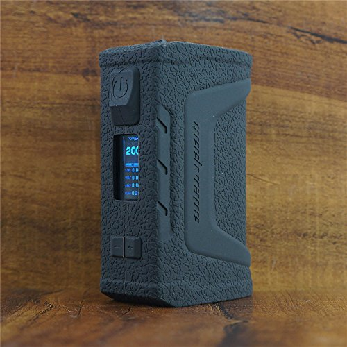 ModShield for GeekVape Aegis Legend 200W Silicone Case ByJojo Cover Shield Sleeve Wrap Skin (Black)