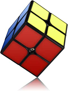 Speed Cube,Vdealen 2x2 Cube Stickerless Puzzle Cube with New Anti-pop Structure