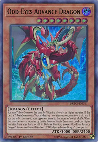 Yu-Gi-Oh! - Odd-Eyes Advance Dragon - DUPO-EN011 - Ultra Rare - 1st Edition - Duel Power