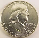 1952 P Franklin Half Dollar Brilliant Uncirculated