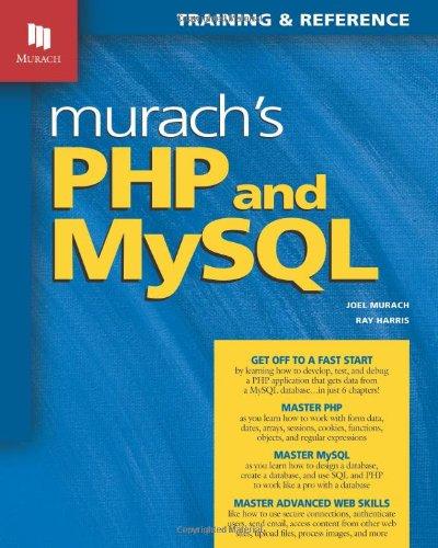 Murach's PHP and MySQL (Murach: Training  Alaska