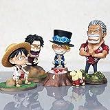 Modelo Figurilla Coleccionable Anime De Bricolaje Dormitorio Creativo De Paja Luffy Cara Hinchada De...