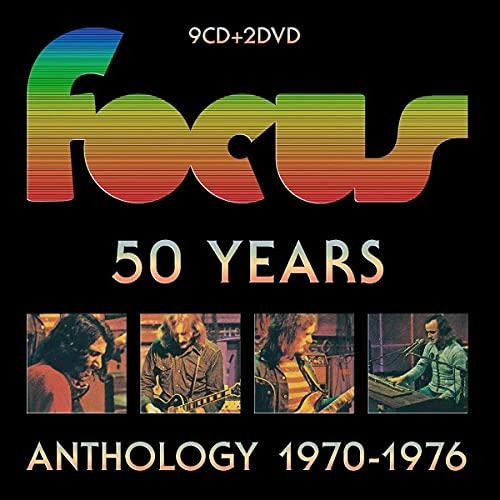 50 Years Box Set/Anthology de 1970 a 1976/9cd + 2dvd