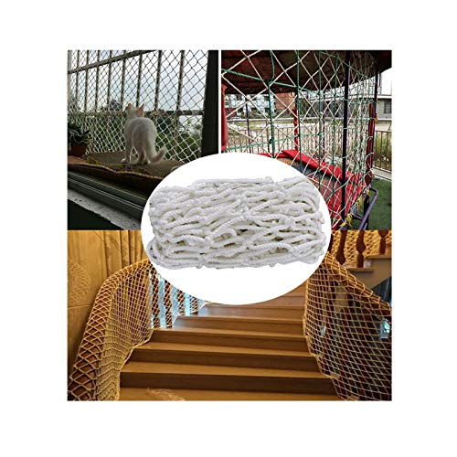 XYUfly20 Children Climbing Rope Stair Fence Three-strand Weave Is Durable, Anti-aging And Corrosion-resistant Grid 3cm Is Used As Climbing Net, Protective Net, Photo Net, Plant Climbing Net