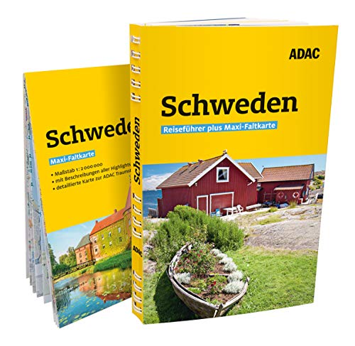 ADAC Reiseführer plus Schweden: mit Maxi-Faltkarte zum Herausnehmen