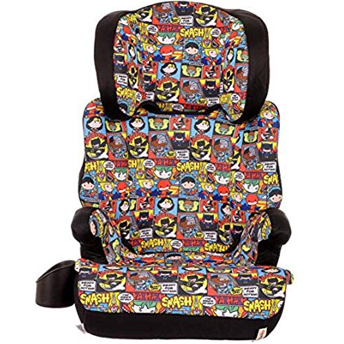 Best Buy! KidsEmbrace High-Back Booster Car Seat, DC Comics Chibi Justice League