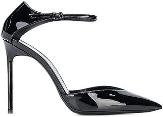 SAINT LAURENT Luxury Fashion Womens 5944370NP001000 Black Sandals | Fall Winter 19