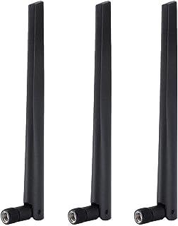 Sanpyl WiFiルーターSMAワイヤレスネットワークカード外部アンテナ WIFIカードアンテナ SMAプラグWIFIアンテナ ASUS RT-AC68u用 3PCS