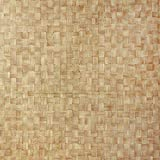 Venilia KF Basic Stroh 45cmx1,5m adhesiva paja decorativa, muebles, papel pintado, lámina autoadhesiva, PVC, sin ftalatos, blanco, 1,5m, 53233, 45 cm x 1,5 m