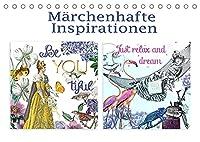 Maerchenhafte Inspirationen (Tischkalender 2022 DIN A5 quer): Fantasievoll arrangierte Szenen inspirieren. (Geburtstagskalender, 14 Seiten )