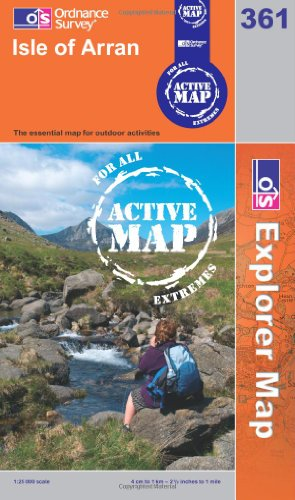 OS Explorer map 361 : Isle of Arran