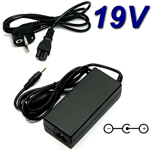 TOP CHARGEUR * Netzteil Netzadapter Ladekabel Ladegerät 19V für ASUS EEE PC 1005PX Netbook AD82000 110LF EXA0901XH EXA1004UH EU, Router RT-N56U, RT-AC66U, 1001PX 1005 1015 1005HA 1005P 1005PE 1005PR