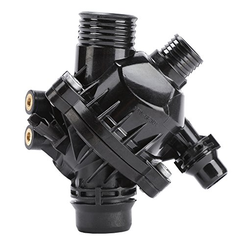 Orion Motor Tech Engine Coolant Thermostat W/Housing Assembly Replacement with BMW Part 11537536655, 11537549476 11537544788, 1430826, 256201, 256202, 41008697D0