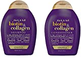 OGX® (Formerly Organix) Thick and Full Biotin Collagen Shampoo 385 ml + Conditioner/Conditioner