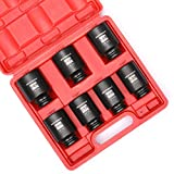 Get 17% discount by applying coupon for MIXPOWER 1/2-Inch Drive Deep Impact Socket Set, Inch, Cr-Mo, 6-Point, 1-3/8-Inch - 1-3/4-Inch, 7-Piece 1/2