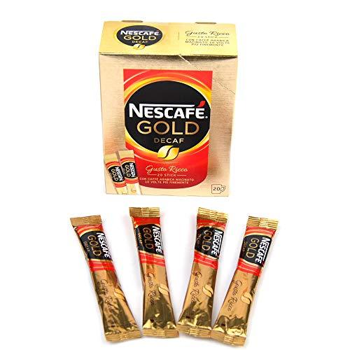 PZ 240 CAFFE' SOLUBILE DECAFFEINATO MONOPORZIONE NESCAFE LIOFILIZZATO BUSTINA INSTANT COFFEE CAFFE' ISTANTANEO SENZA CAFFEINA