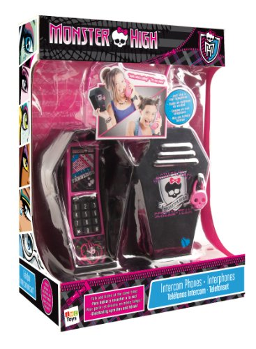 IMC Toys France - 870260 - Jeu Électronique - Intercom Téléphone - Monster High