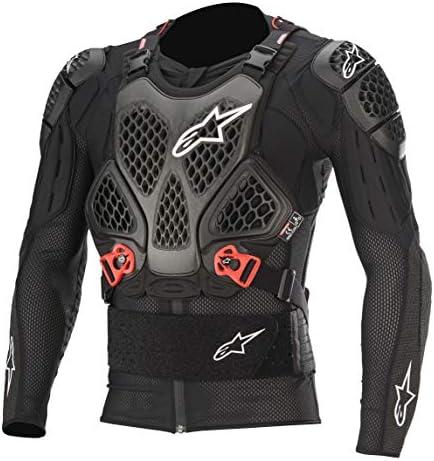 Alpinestars Unisex Adult Bionic Tech V2 Protection Jacket Black Red 2X Multi one size product image