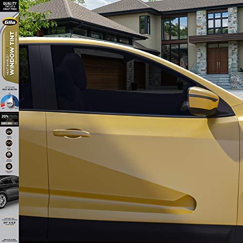 Gila Heat Shield Plus 20% VLT Automotive Window Tint DIY Extra Heat Control Glare Control 2ft x 6.5ft (24in x 78in)