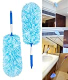 Best Machine Washable Dusters - Sunroom 2PCS Washable Microfiber Dusters extendable for Cleaning Review