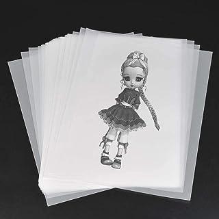 carta per lanterne carta da lucido 50 fogli di carta trasparente DIN A4 PREMIUM 102g per auto-stampa carta da lucido artigianato pellicola transfer per segnaposti e lanterne dalla Germania