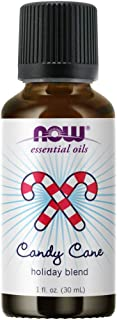 Now Essential Oils, Candy Cane Oil Blend, Refreshing and Invigorating with a Sweet and Minty Scent, Steam Distilled and CO...