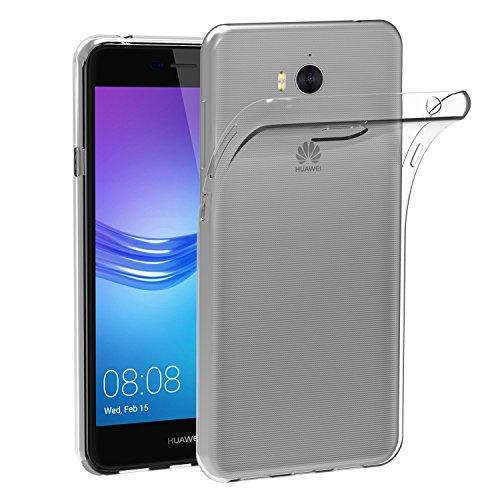 Custodia Cover Huawei Nova Young / Huawei Y5 III / Y5 3, iVoler Silicone Caso Molle di TPU Cristallo Trasparente...