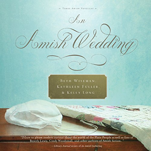 An Amish Wedding audiobook cover art
