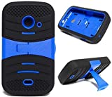 U/C-sBLACK/Blue Phone Case Cover for ZTE Zinger/Prelude 2 / Salem / Z667T Z667G Z667