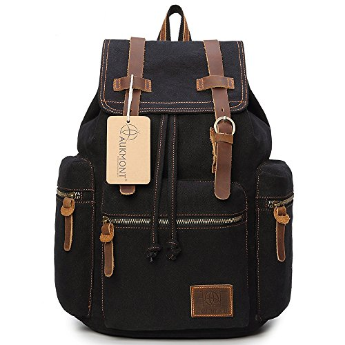 Vintage Canvas Travel Rucksack 19L