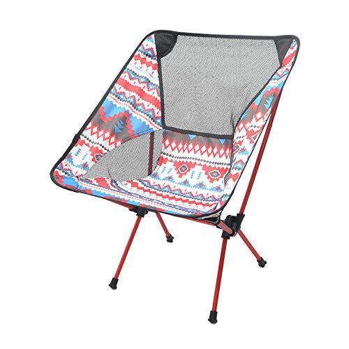Al aire libre camping plegable silla de playa portátil silla de luna cómoda silla de pesca perezosa compacta y ligera para llevar con usted-Nacionalidad