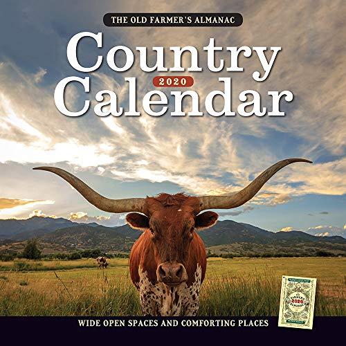 The Old Farmer's Almanac 2020 Country Calendar