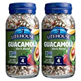 Litehouse Freeze Dried Guacamole Herb Blend, 0.85 Ounce, 2-Pack