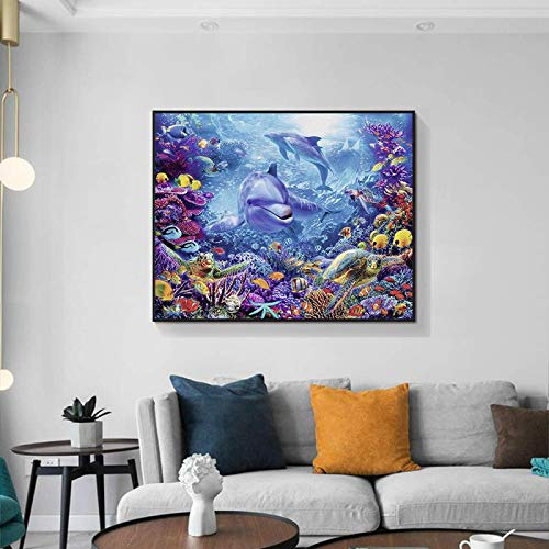 1000 Pcs Jigsaw Puzzle for Adults Kids 50x75cm Underwater world fish Puzzle Educational Toy the bestselling Jigsaw puzzle