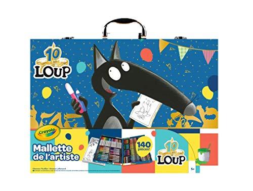 Crayola - Mallette de l'artiste Le Loup - - 256450.004