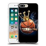 Head Case Designs Oficial Tom Wood Rey del Baloncesto Monstruos Carcasa de Gel de Silicona Compatible con Apple iPhone 7 Plus/iPhone 8 Plus