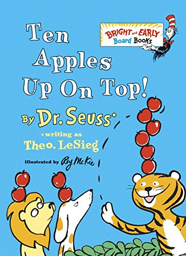 Ten Apples Up On Top! (Bright & Early Board Books(TM))の詳細を見る