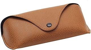 5cm 8 drawihi Nueva ovalado Gafas Caja Cremallera fibra Gafas funda Sonnenbrille Caja Pr/áctico Gafas Caja negro 16.5