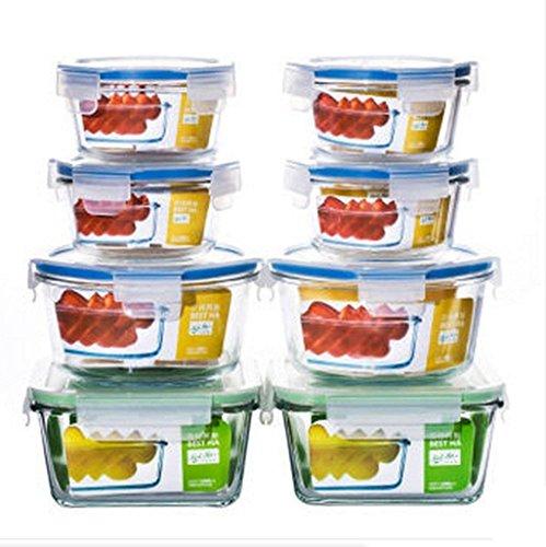 ChFei Réfrigération Pratique boîte scellée translucide bac à légumes 780ml boîte à Lunch